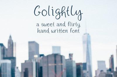 Golightly Font