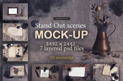 7 Stand out mockup scenes