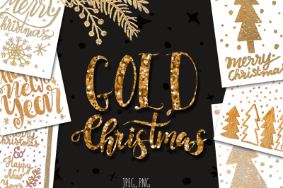 Gold Christmas.