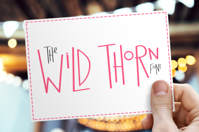 Wild Thorn Font