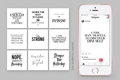 50 Instagram Essential Quotes Vol. 1