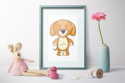 Cute Friends |Animals clipart mini creator