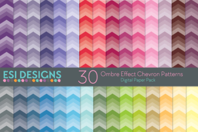 50% off new line - Ombre Effect Digital Paper Pack