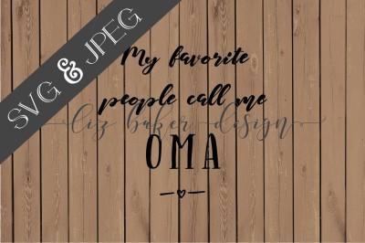 Oma Cut File SVG JPEG