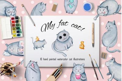 My fat cat!