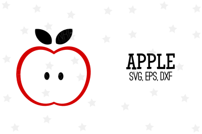 Apple SVG, Cut File