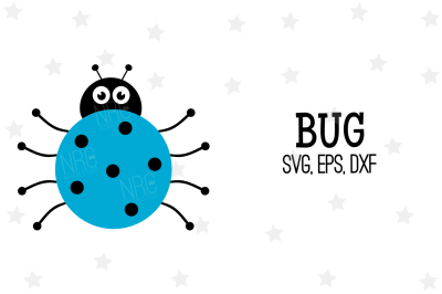 Bug SVG, Cut File