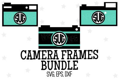 Camera Frame Bundle SVG, Cut File