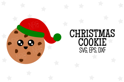 Christmas Cookie SVG, Cut File
