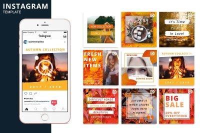 Autumn Instagram Animated Template