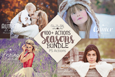 Seasons BUNDLE Actions for Photoshop