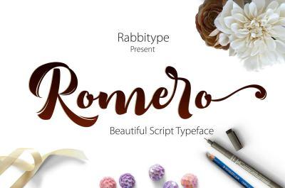 Romero Script OFF 75%
