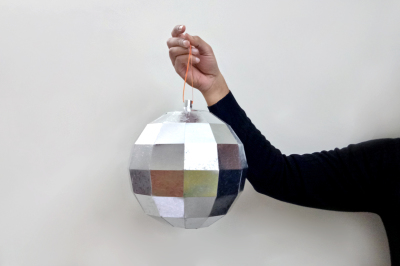 DIY Disco Ball - 3d papercraft