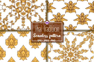 56 Thai Traditional Patterns