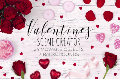 Valentines Scene Creator - Top View