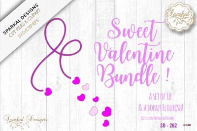 A Sweet Valentine Bundle !  Cutting Files