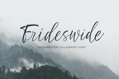 Frideswide Script
