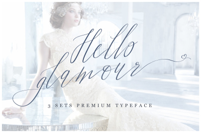 Hello Glamour - Premium Typeface
