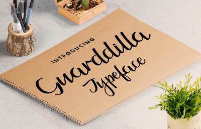Guarddilla Typeface