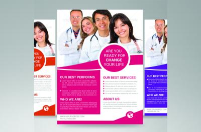 medical doctors flyer