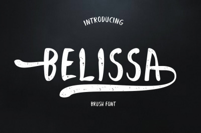 Belissa Brush Font