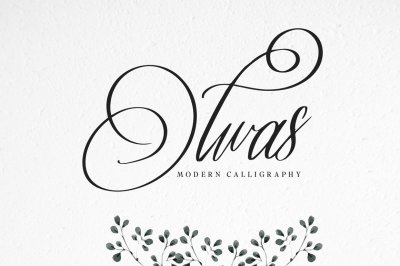 Olwas Modern Calligraphy