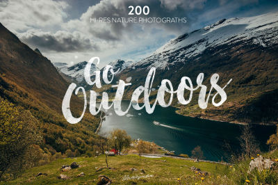 Go Outdoors - Nature photo pack v.2