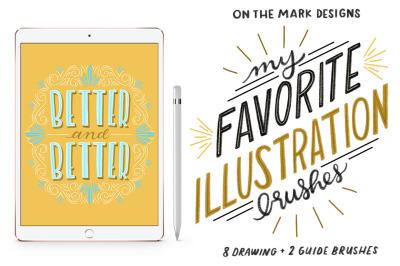 Illustrator & Photoshop Brushes