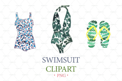 SWIMSUIT WATERCOLOR CLIPART. Summer watercolor download. Watercolor graphics swimsuit. Isolated png. Swimsuit. Fashion clipart png download