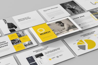 Munch PowerPoint Template