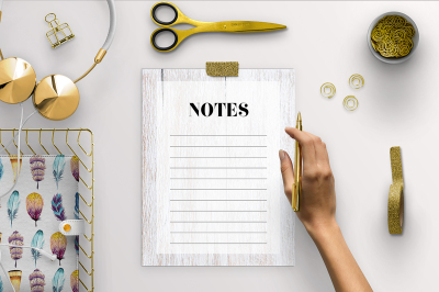 Wood Notes Pages