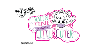 Valentines Cutie SVG PNG DXF