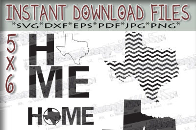 Texas home SVG - Texas Bundle svg - Texas digital files - State SVG Files - DIY- Svg - Dxf - Eps - Png - Jpg - Pdf