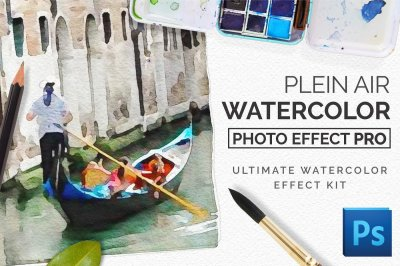 Watercolor Photo Effect Pro: PleinAir Edition
