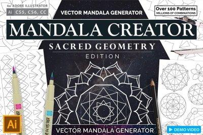Sacred Geometry Mandala Creator Addon