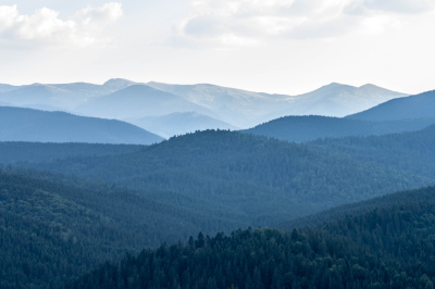the silent greatness of the Carpathian Mountains
