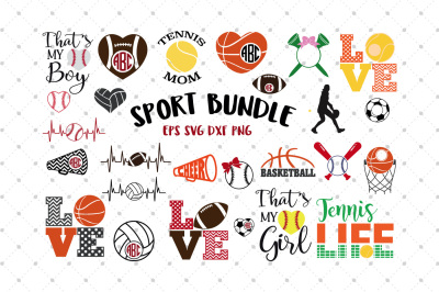 Sport SVG Bundle