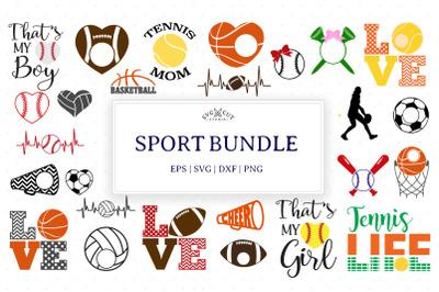 Sport SVG Bundle