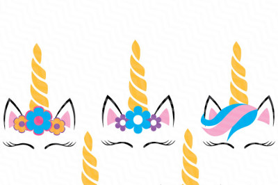 Five Unicorns SVG