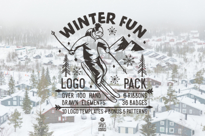 Winter Fun - Adventure Logo Pack