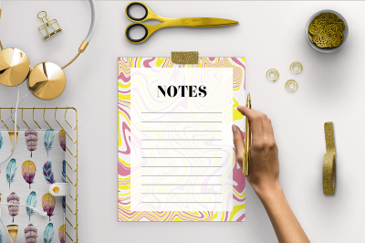 Abstract Notes Pages