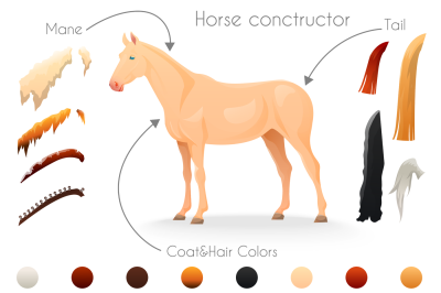 Create your horse breed with HORSE constructor + BONUS