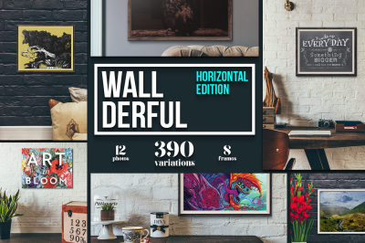 Wallderful - Horizontal Mock ups