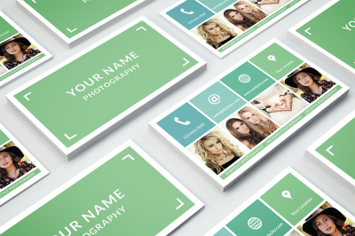 Business Card Template 001 for Photoshop