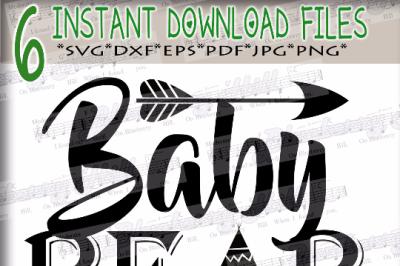 Baby bear SVG - Baby bear svg digital - Baby bear with Arrow - Baby be