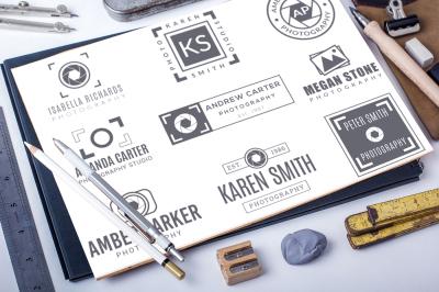 Premade Photography Logos