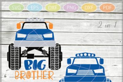 Monster Truck Svd - Truck SVG - Boys Monster Truck - Monster Truck Big