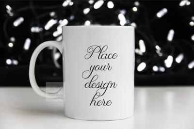 Halloween Mockup Mug coffee Mock ups White mock up mug Cup template