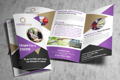 Welfare Services Trifold