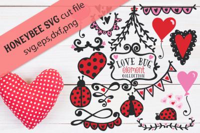 Love Bug Collection with BONUS word art